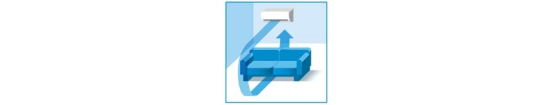 Poza Aparat aer conditionat DAIKIN Perfera Bluevolution FTXM25M-RXM25M, Inverter 9000 BTU, Wi-Fi Ready, Clasa A+++