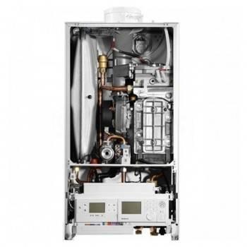 Poza Centrala termica pe gaz in condensare BUDERUS LOGAMAX PLUS GB 172IK 30kW alb  kit evacuare inclus