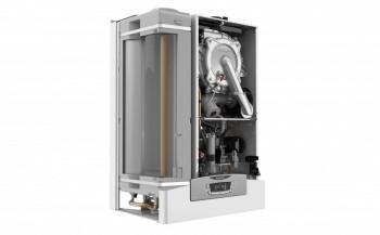 Poza Centrala termica pe gaz in condensatie ARISTON CLAS B ONE 24 cu boiler 40 l, kit evacuare inclus