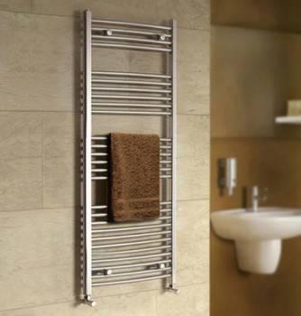 Calorifere pentru baie (port-prosop) pot deveni un element decorativ de efect (foto: www.tapsbathrooms.com)