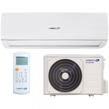 Pachet Aparat aer conditionat NORDSTAR inverter 9000 BTU, Kit instalare aparat de aer conditionat, Set suport extern