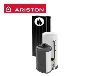 Pachet Sistem solar ARISTON KAIROS FAST CD2 300-2 TR, Centrala termica pe gaz in condensatie ARISTON CLAS ONE SYSTEM 35, kit evacuare