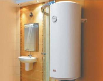 Boiler electric montat in baie (Foto: plumbing4home.com)