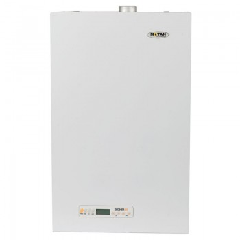 Pachet Centrala termica pe gaz conventionala MOTAN SIGMA 31 kw Erp, kit evacuare, Termostat de ambient fara fir LOGICTHERM C7 RF
