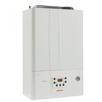 Pachet Centrala termica pe gaz in condensare IMMERGAS VICTRIX TERA 24 PLUS, doar incalzire, kit evacuare inclus, Boiler indirect cu serpentina ATLAS FST 120, accesorii