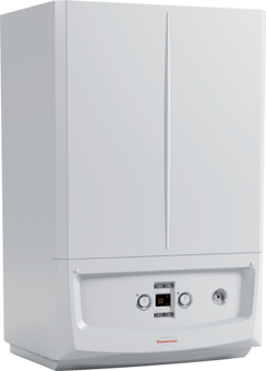Centrala termica pe gaz in condensatie IMMERGAS Victrix Zeus 32 cu boiler INOX 45 l, kit evacuare inclus