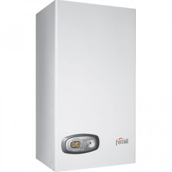 Poza Centrala termica pe gaz in condensatie FERROLI DIVACONDENS D PLUS F 24, kit evacuare inclus