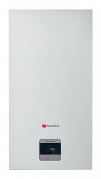 Centrala termica in condensare SAUNIER DUVAL Isotwin Condens T35 cu boiler incorporat 42 l, kit evacuare inclus
