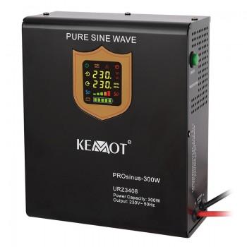 UPS pentru centrale termice sinus pur KEMOT 300W 12V
