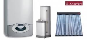 Pachet ARISTON Genus Premium System 30 + 2 panouri solare tuburi vidate + boiler 300 l
