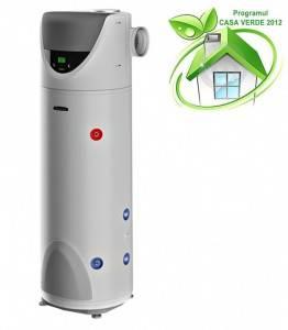 Poza Boiler cu pompa de caldura ARISTON NUOS 250 SOLAR PARDOSEALA