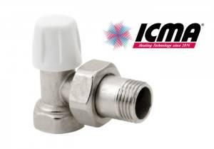 Robinet radiator retur 1/2 ICMA