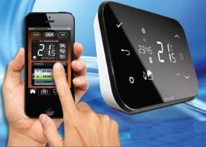 Poza Termostat de ambient SALUS IT500 controlat prin internet