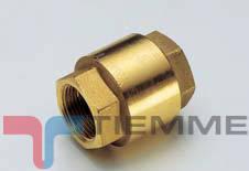 Supapa de sens YACHT F/F 2 1/2 cu obturator metalic