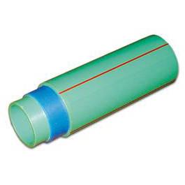 Poza Teava PPR verde cu fibra compozita PN20 / 75x10.3 mm