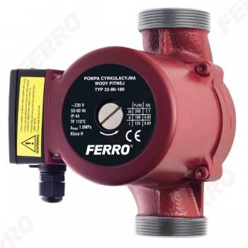 Pompa de recirculare FERRO 32-80/180