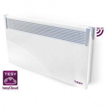 Convector electric TESY 2000W, termostat electronic, modul WIFI incorporat, timer