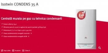 Poza Centrala termica in condensare SAUNIER DUVAL Isotwin Condens 35 A cu boiler incorporat 42 l  kit evacuare inclus