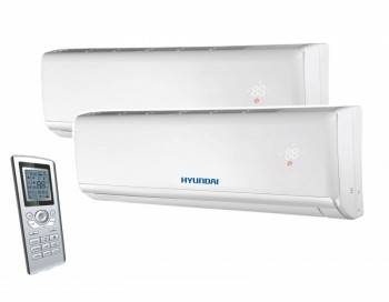 Aparat aer conditionat multisplit HYUNDAI, inverter 9000+9000 BTU
