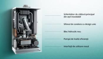 Poza Centrala termica pe gaz in condensatie VAILLANT ecoTEC pure