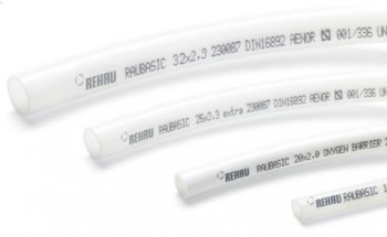 Teava PE-Xa cu bariera oxigen REHAU Raubasic Eval 20 x 2 mm, colac 240 ml