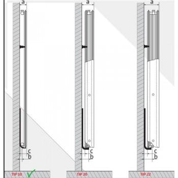 Calorifer din otel vertical VOGEL&NOOT 10/600X2600