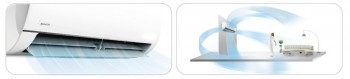 Poza Aparat de aer conditionat Midea Blanc Full DC MSMABU-12HRFN1-QRD0GW, Inverter, 12000 Btu/h , Clasa A++. Poza 9674