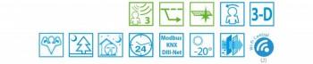 Poza Aparat aer conditionat DAIKIN Ururu Sarara Bluevolution FTXZ35N-RXZ35N Inverter 12000 BTU, Wi-Fi, Clasa A+++. Poza 9743
