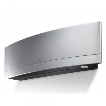Aparat aer conditionat DAIKIN Emura Bluevolution FTXJ25MS-RXJ25M, Silver, Inverter 9000 BTU, Wi-Fi, Clasa A+++